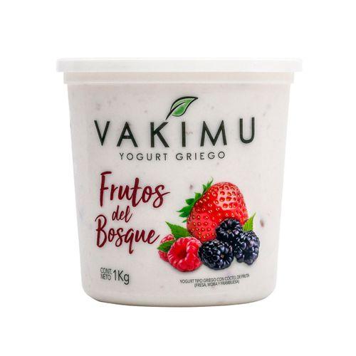 VAKIMU YOGURT GRIEGO FRUTOS DEL BOSQUE 1 KG